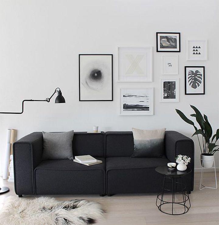 nordic style black white