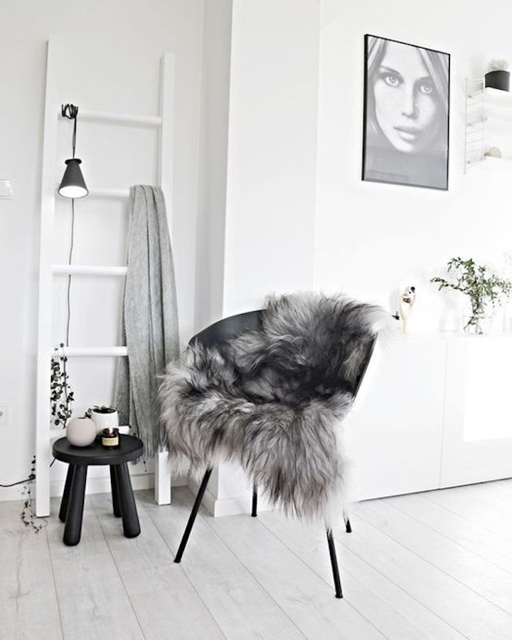 nordic style pelliccia