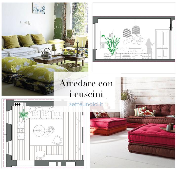 Arredare Con Cuscini.Let S Style With Me Arredare Con I Cuscini Arch Carlotta Pesce