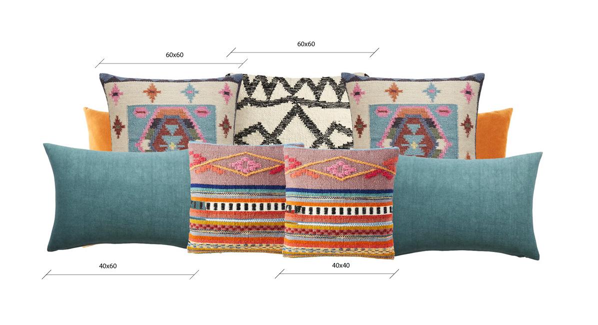 composizione cuscini